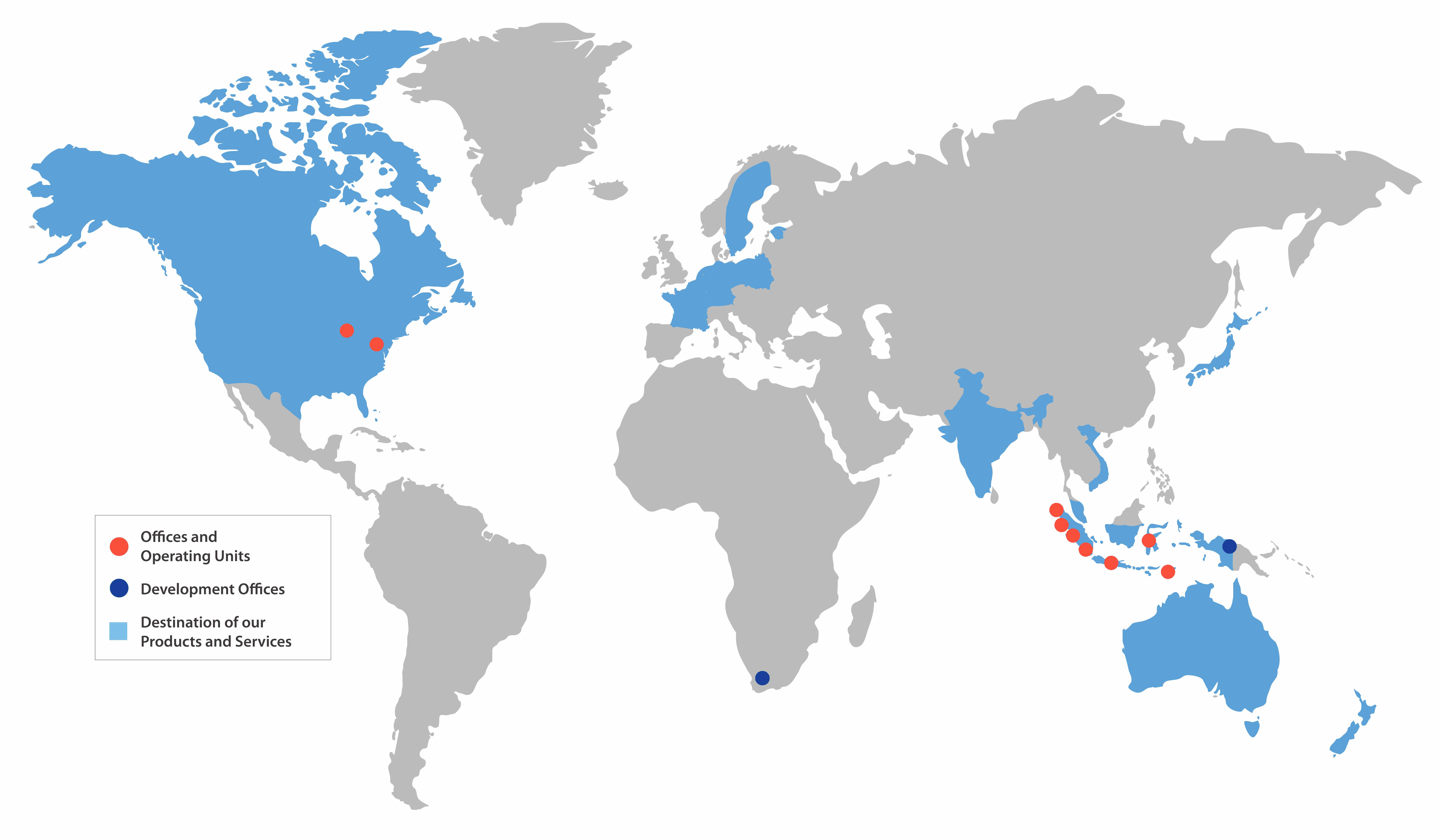 CBIGlobal map